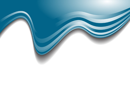 Vector - Blue wave modern pattern for use as backgrounds or in presentations Stock Vector - 4353272
