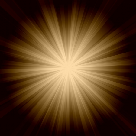 Sun burst background retro style from 70s era Stock Photo - 4508744