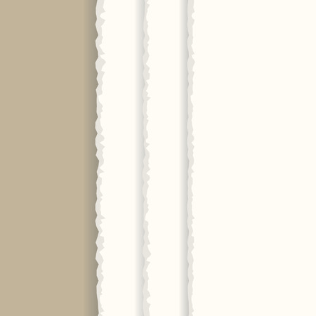 Vector - Ripped paper sheet background with copy space for text Stock Vector - 5592665