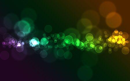 Círculos de brillante colorido de bokeh abstracta para uso de fondo  Foto de archivo - 6811583