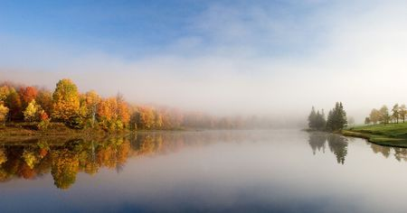 Lake Reflection Imagens