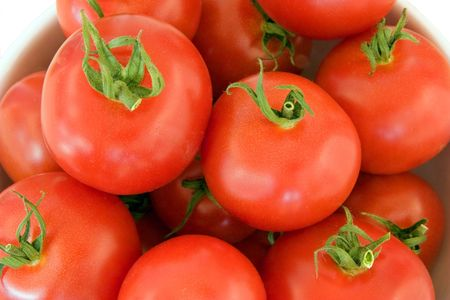 Bowl of Tomatoes Imagens