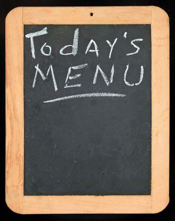 Todays Menu sign Imagens
