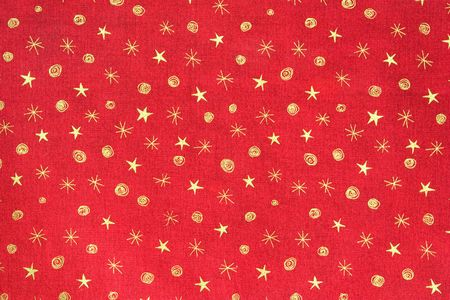 Red and gold holiday background
