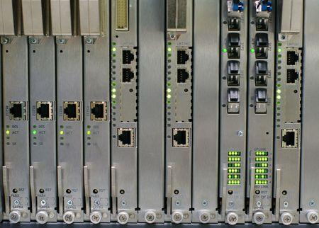 catenation: electronic switching equipment on digital telephony exchange