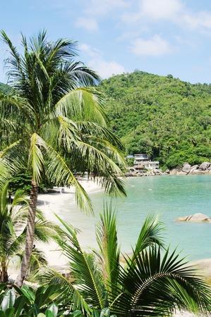celadon blue: Top view Silver Beach Koh Samui Thailand