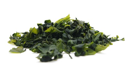 Dried seaweed wakame  lat. Undaria pinnatifida Reklamní fotografie - 40046822