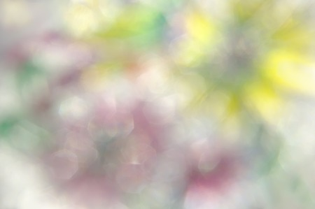 bstract: bstract blurred soft mix colored blots bokeh background