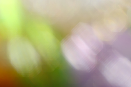 colorific: Abstract blurred soft mix colored blots bokeh background.