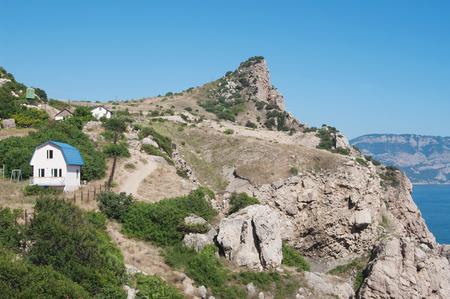 Rock Mytilene, Balaklava, Crimea