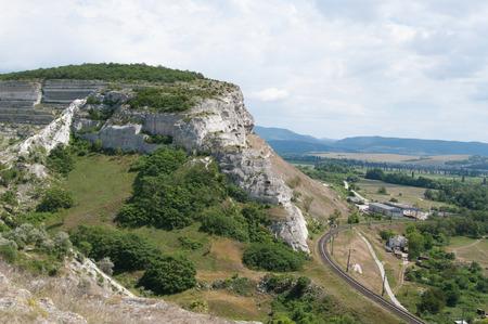 Zagaitanskaya rock, Inkerman, Crimea
