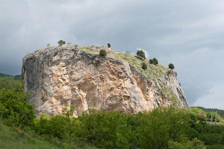 Red Stone rock, Crimea Stok Fotoğraf