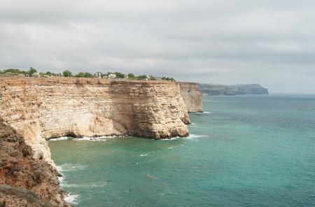 rocky cape Fiolent in Black sea, Crimea