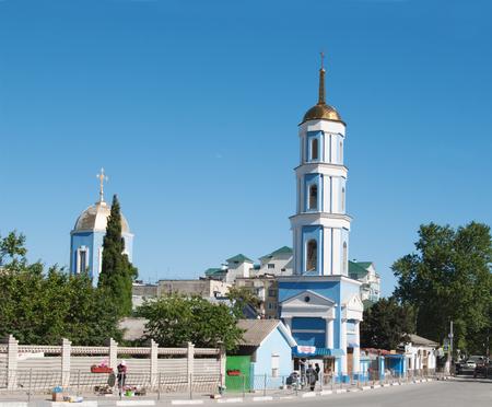 view of Church of Intercession, Sudak, Crimea