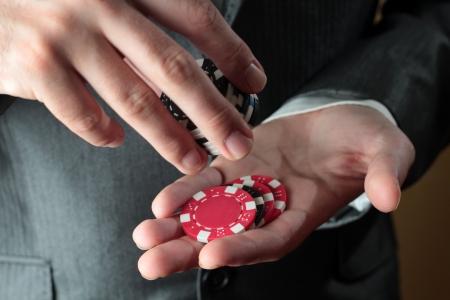 knave: gambler man Stock Photo