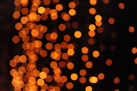 christmas paste: Abstract yellow bokeh background in a party Stock Photo