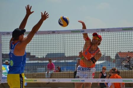 european championship: Beachvolleyball, European championship 2012 The Hague