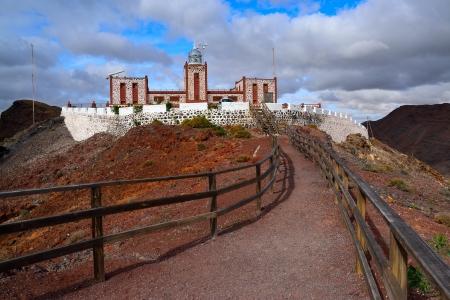 The lighthouse of Entallada, Fuerteventura photo