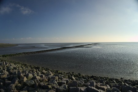 Waddenzee Stockfoto