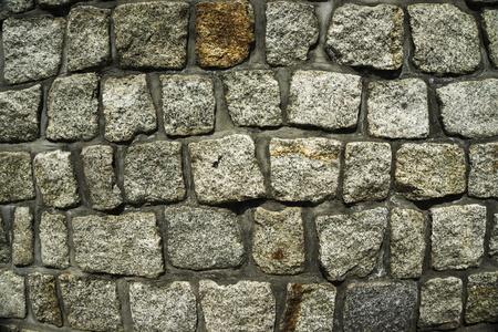 wall of granitestones