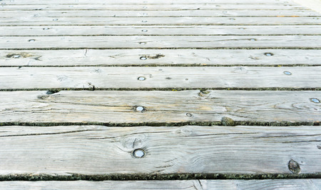 pier planks Stock Photo