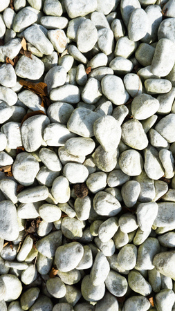 smooth: white stones with smooth surface Stock Photo