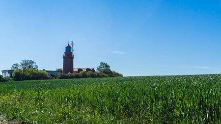 lighthouse in Bastorf, germany - lighthouse Buk