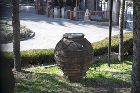 Stone Barrel Фото со стока - 96238465