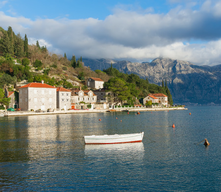 Perast city  Montenegro photo