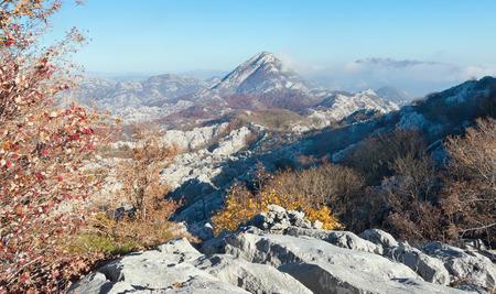 montenegro: Autumn in the mountains. Montenegro