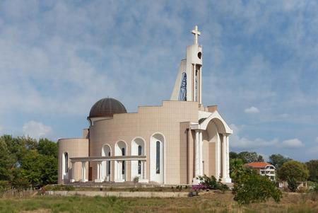 place of interest: Albanian Catholic Church St. Marko. Doni Stoj town, Montenegro