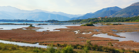 salinity: View of special botanical and animal reserve Solila. Tivat, Montenegro