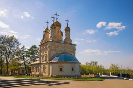 Orthodox church of The Transfiguration of Our Saviour On Yar. Ryazan city, Central Russia