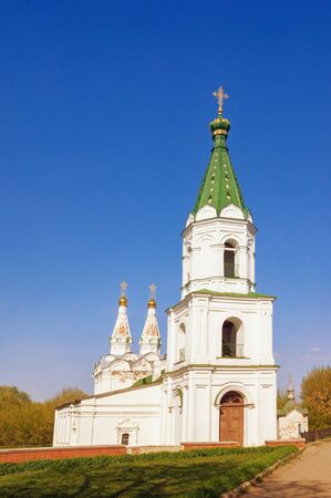 Religious architecture. Russia, Ryazan city. Ancient Orthodox Church of the Holy Spirit
