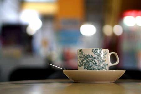 kopitiam: A Cup of Nanyang Coffee with beautiful Bokeh