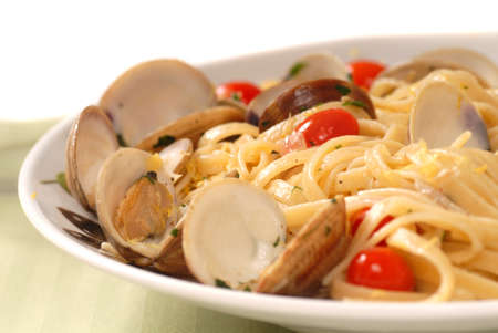 mouthwatering: Linguine and clam sauce known as Linguine Vongole