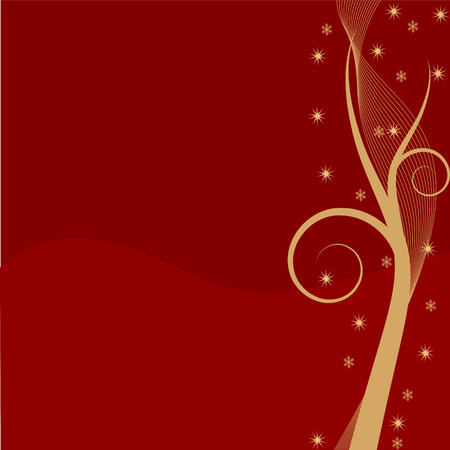 Abstract Chrsitmas background with copy space Vector