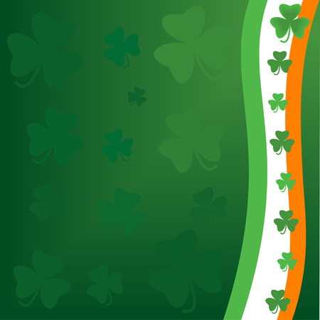 Saint Patricks day background Stock Vector - 4191536