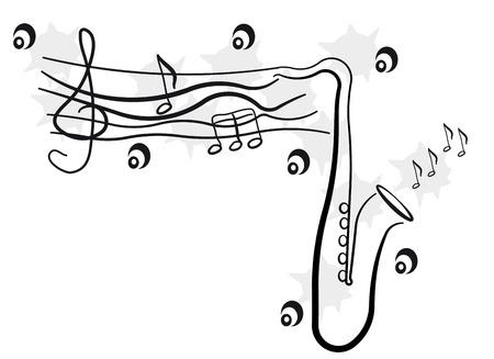 jazz background Stock Vector - 17681829