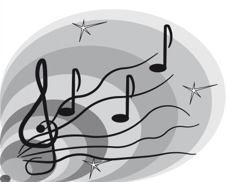 music background Stock Vector - 17681825