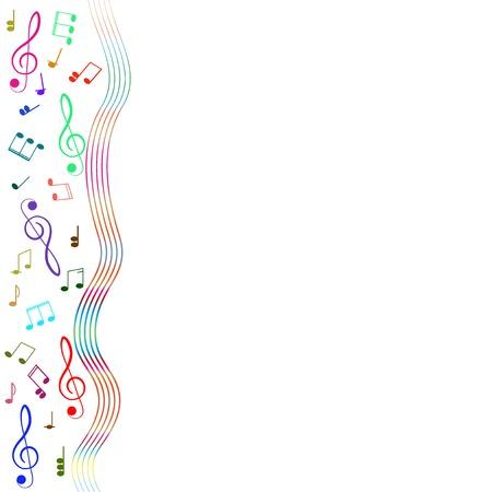 Violinschlüssel für Ihre Konstruktion. Vektorgrafik