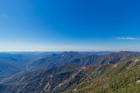 sequoia national park: Moro Rock Scenic View In Sequoia National Park, California