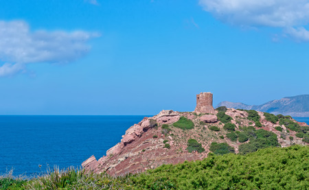 sighting: sighting tower in Porticciolo, Sardinia