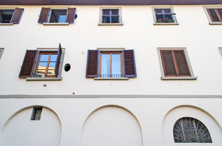 old building facade: old building facade in Florence