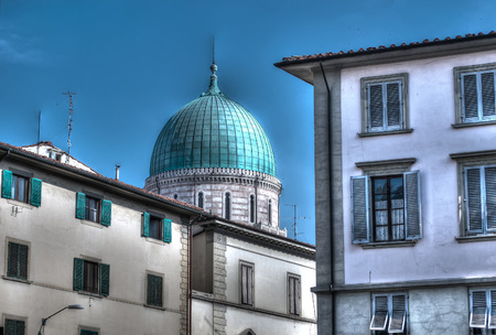 synagogue: synagogue dome in Florence