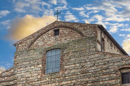 Santa Maria Assunta church in Montepulciano, Tuscany