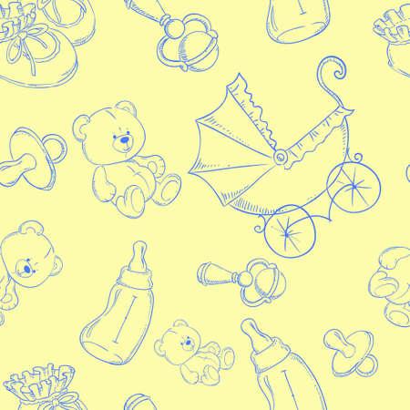 sonaja: lindo bebé trama de fondo transparente de color amarillo