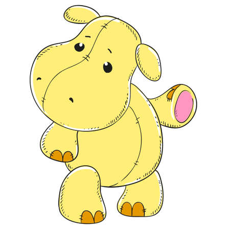 soft toy: Cute Hippo soft toy