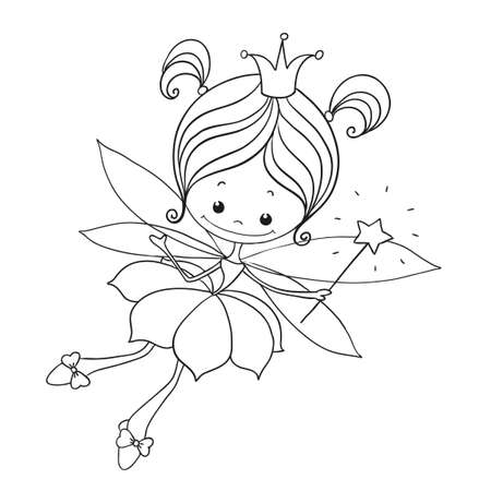 Lovely character doodle. Stock Illustratie
