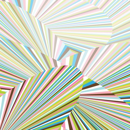 Abstract background with colorful stripes Stock Photo - 7032829